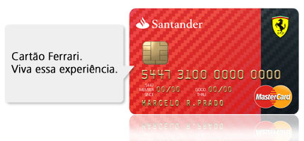 Cart o ferrari santander for Sucursales banco santander en roma italia